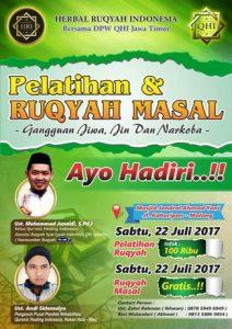 PELATIHAN & RUQYAH MASSAL MALANG @ Masjid Jendral Ahmad Yani